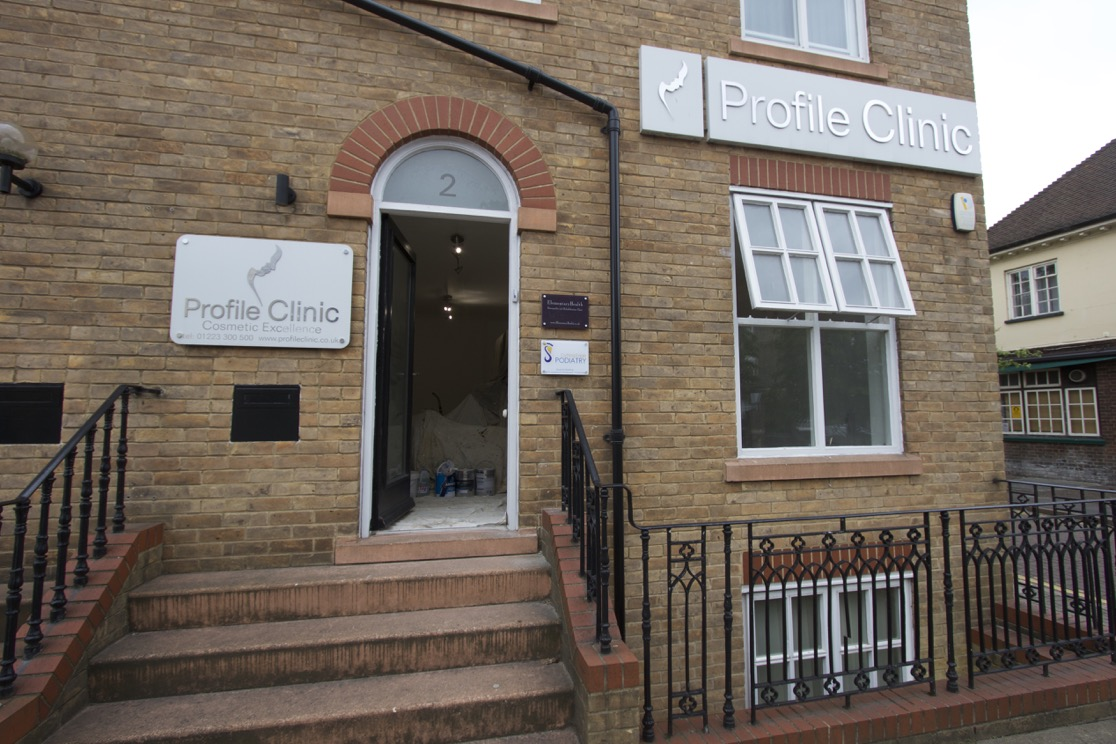 The Miracle Clinic Reception, Cambridge